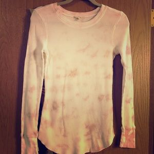 Tie Dye thermal top